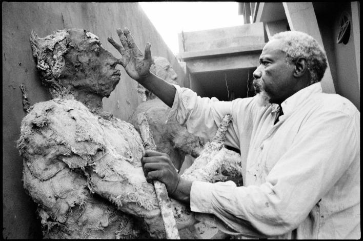 Ousmane Sow, sculptures de puissance et de boue
