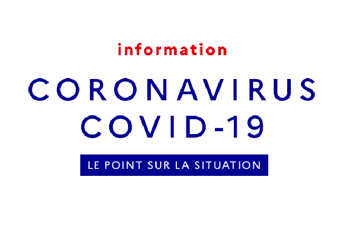 Fermeture en raison du coronavirus – COVID 19