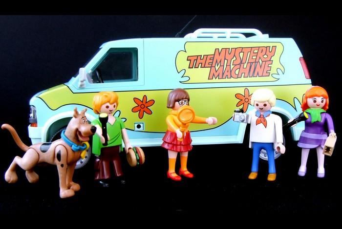 Les petits bonhommes Playmobil (r) s'invitent !